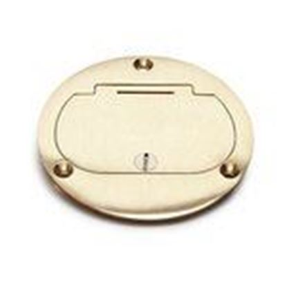 Picture of Lew DFB-1 Hinged Cover for Duplex, Brass