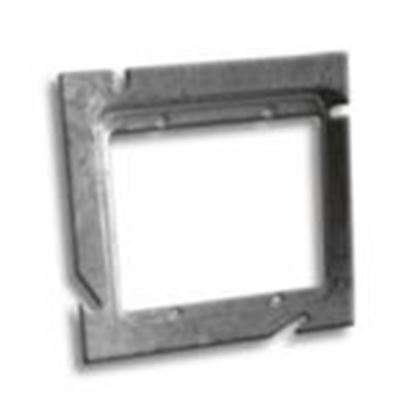 """Picture of RANDL Industries L-52G012 5"""" Square x Double Gang Extension Ring"""
