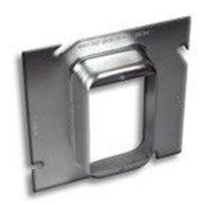 """Picture of RANDL Industries D-51G010 Extension Ring, 5"""" x Single Gang, 1"""" Deep"""