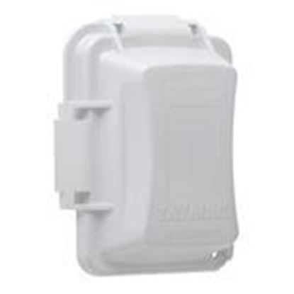 Picture of Hubbell-TayMac MM420W Single-Gang Non-Metallic In-Use Cover