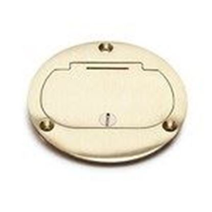 Picture of Lew DFB-1-GFI Hinged Cover for Decora Receptacle, Brass