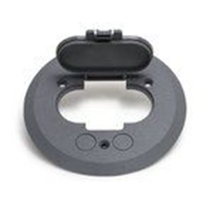 Picture of Lew PFC-S Flanged Cover, Plastic, Gray
