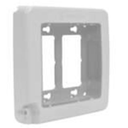 Picture of Intermatic WP7200W Weatherproof Cover, 2-Gang, Vertical/Horizontal, White