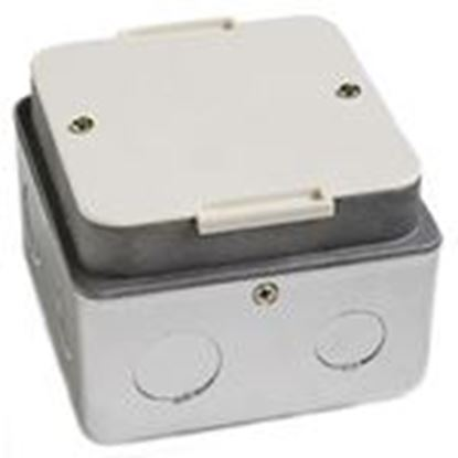 "Picture of Lew PUFP-HB 3-1/4"" Deep, 2-Gang, Floor Box"