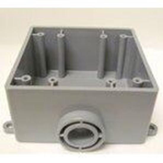 Picture of Cantex 5133381 2-Gang, Weatherproof Outlet Box