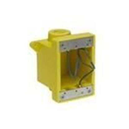 Picture of Woodhead 452CR Weatherproof Outlet Box, 1-Gang