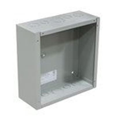 """Picture of Milbank 18186-SC1 Enclosure, Wall-Mount, NEMA 1, Screw Cover, 18 x 18 x 6"""", Steel"""
