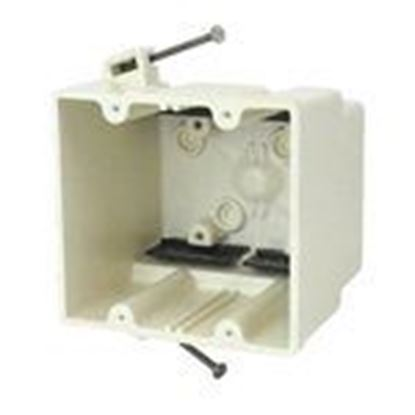 Picture of Allied Moulded 2302-N Two gang electrical box for use with nonmetallic sheathed cable