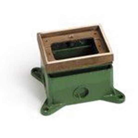 Picture of Lew 1101-58 Adjustable Floor Box, Single Gang
