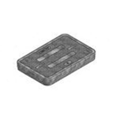 "Picture of Oldcastle Precast 02001245 Rectangular Cover, Fibrelyte Series, 10 x 15"", Composite"