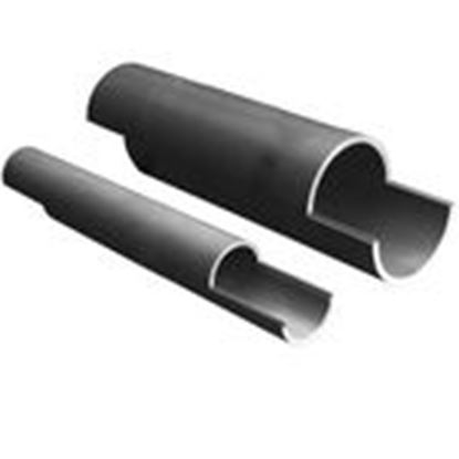 "Picture of Prime Conduit 49012SD-010 Split Duct PVC Conduit, 2-1/2"", 10', Schedule 40"