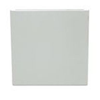"""Picture of Milbank 1212GE-NK Wireway End Plate, 12"""" x 12"""", Type 1, Gray, No KO"""