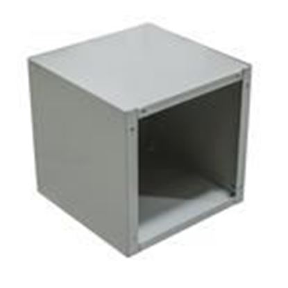 """Picture of Milbank 12124-SC1-NK Pull Box, NEMA 1, Screw Cover, 12"""" x 12"""" x 4"""", Painted, No KOs"""