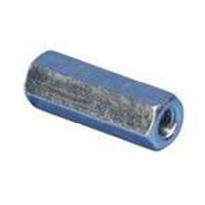 "Picture of Erico Caddy 0250062EG Threaded Rod Coupling, 5/8"", Electrogalvanized"