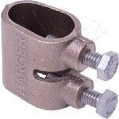 Picture of Harger Lightning & Grounding 302U Universal Ground Rod Clamp - Light Duty