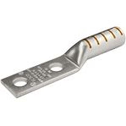 Picture of 3M 31141 Copper Two-hole Long-barrel Lug