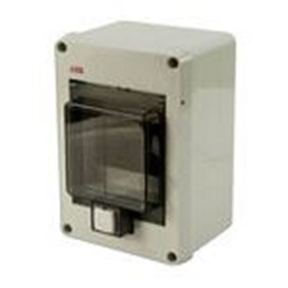 Picture of ABB 12644 Enclosure, Gray, Clear Cover, MS116