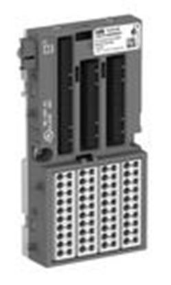 Picture of ABB 1SAP212000R0001 TU516:S500, I/O Terminal Unit, 24VDC, Sprin