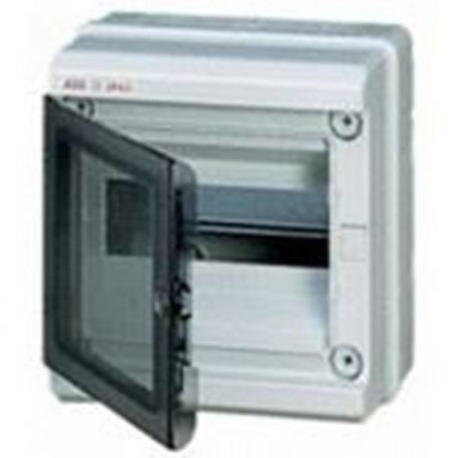 Picture of ABB 12752 Enclosure, Gray, Clear Cover, MS116