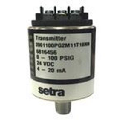 Picture of Setra Systems Inc 2061-100P-G-2M-11T-18-NN Pressure Transducer