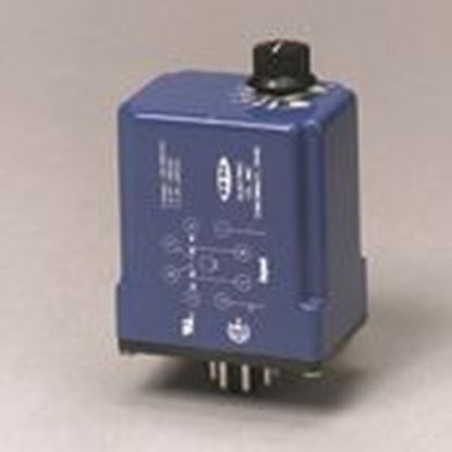 Picture of R-K Electronics CDB-115A-2-5M Timing Relay, Interval On, 10A, DPDT Contacts, 3 sec-5 min, 115VAC