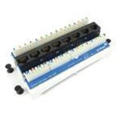Picture of Primex Manufacturing DM8CAT6 Cat6 8-Port Data Module