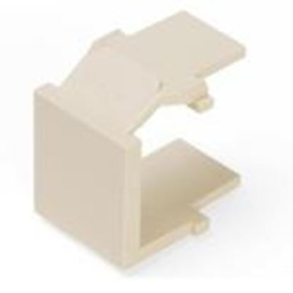 Picture of DataComm Electronics 20-3101-IV Snap-In Blank, Ivory