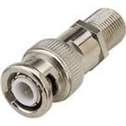 Picture of Pico Digital BFA Male BNC to Female F coax adapter