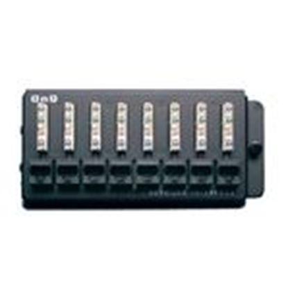 Picture of ON-Q 363486-01 Network Interface Module, OnQ Cat5e, 1 x 8 Port, Telecom Module