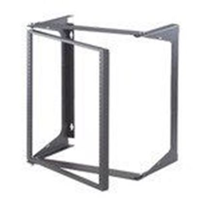 Picture of Ortronics OR-19-48-T18D Swing-EZ Wall Rack, Gray, 18""