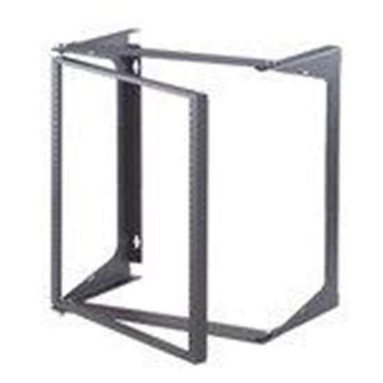 """Picture of Ortronics OR-19-48-T18D Swing-EZ Wall Rack, Gray, 18"""""""