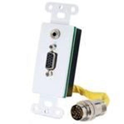 Picture of Quiktron 2212-60054-001 RapidRun VGA 3.5mm Audio Insert