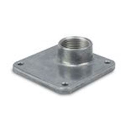 "Picture of Midwest B10 Hub, 1"" Rainproof, Conduit/Plate, 3R"