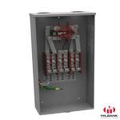 Picture of Milbank 127TB-RP 200A, 3P, 7 Jaw, Meter Socket