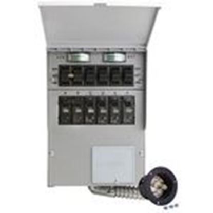 Picture of Reliance Controls 306A Transfer Switch, Manual, 30A, 120/240VAC, 6 Spaces, 7.5kW