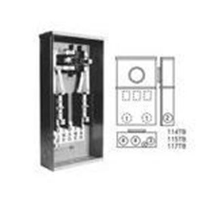 Picture of Milbank 114TB-RP Meter Base, 100A, 4 Terminal, Ring Type