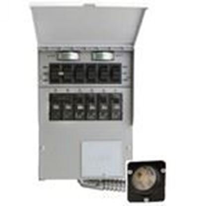 Picture of Reliance Controls 206A 20A, 120/240V, Transfer Switch Kit