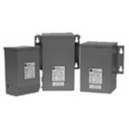 Picture of Hammond Power Solutions C1F1C0LES Transformer, Encapsulated, Industrial, 1KVA, 240/480 x 120/240V