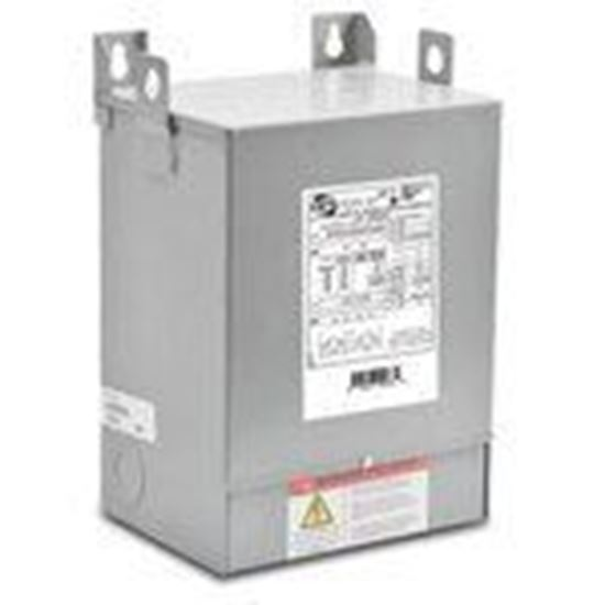Picture of Hammond Power Solutions C1F002XES Transformer, Dry Type, Fortress, 2KVA, Export Primary, 120/24VAC
