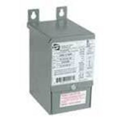 Picture of Hammond Power Solutions C1F002LES Transformer, Encapsulated, Industrial, 2KVA, 240/480 x 120/240V