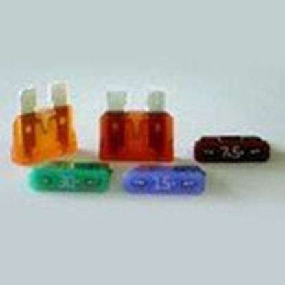 Picture of Littelfuse 0287002.PXCN 2 Amp, 141mV ATOF Blade Fuses