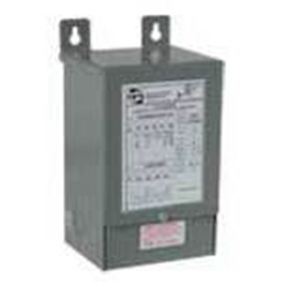 Picture of Hammond Power Solutions C1F003WES Transformer, Dry Type, 3KVA, 120/208/240/277 - 120/240, 1PH
