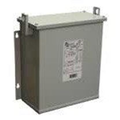 Picture of Hammond Power Solutions P006KBKF Transformer, Dry Type, 6KVA, 480 Delta Primary, 208Y/120V Secondary