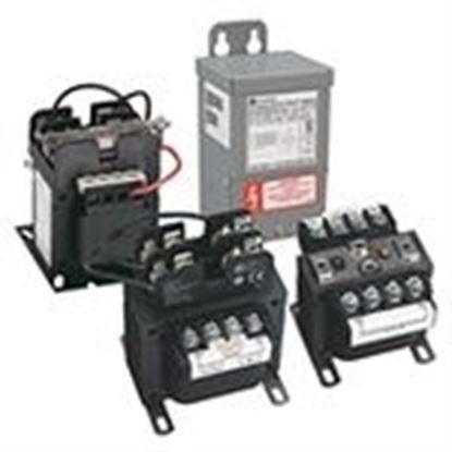 Picture of Hammond Power Solutions PH100QR Transformer, Control, 100VA, Group D, 240x480 - 24VAC, 1PH