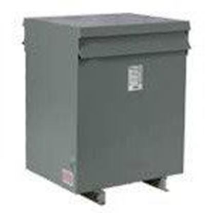 Picture of Hammond Power Solutions NMK112PK Transformer, Dry Type, Sentinel, 112.5KVA, 600 Delta - 480Y/277, NEMA 2