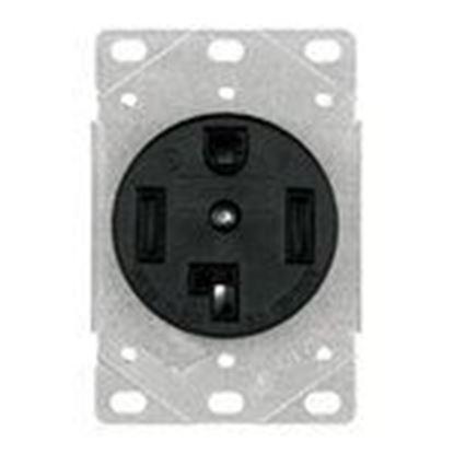 Picture of Eaton Arrow Hart 1257-SP EWD 1257-SP Recp Single Flush 30A 1