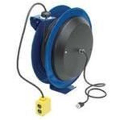 Picture of Coxreels PC13-5012-B 20 Amp, 115 Volt, 50ft Power Reel with Receptacle