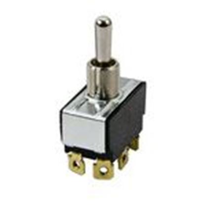 Picture of McGill 01210004N Toggle Switch, DPDT, Momentary