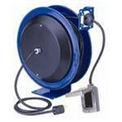 Picture of Coxreels PC13-5012-F 20 Amp, 115 Volt, 50ft Power Reel with GFCI