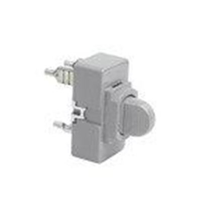 Picture of Pass & Seymour 1091-GRY Momentary Contact Switch, 3 Amp 24 Volts AC/DC
